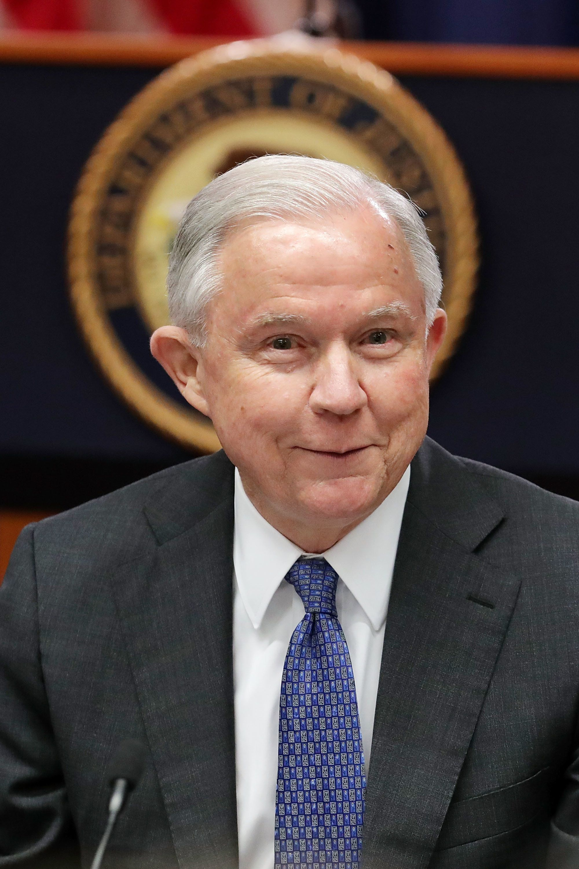 Jeff Sessions Jokes About Getting Fired: My 'Pink Slip' Was 'More Public Than