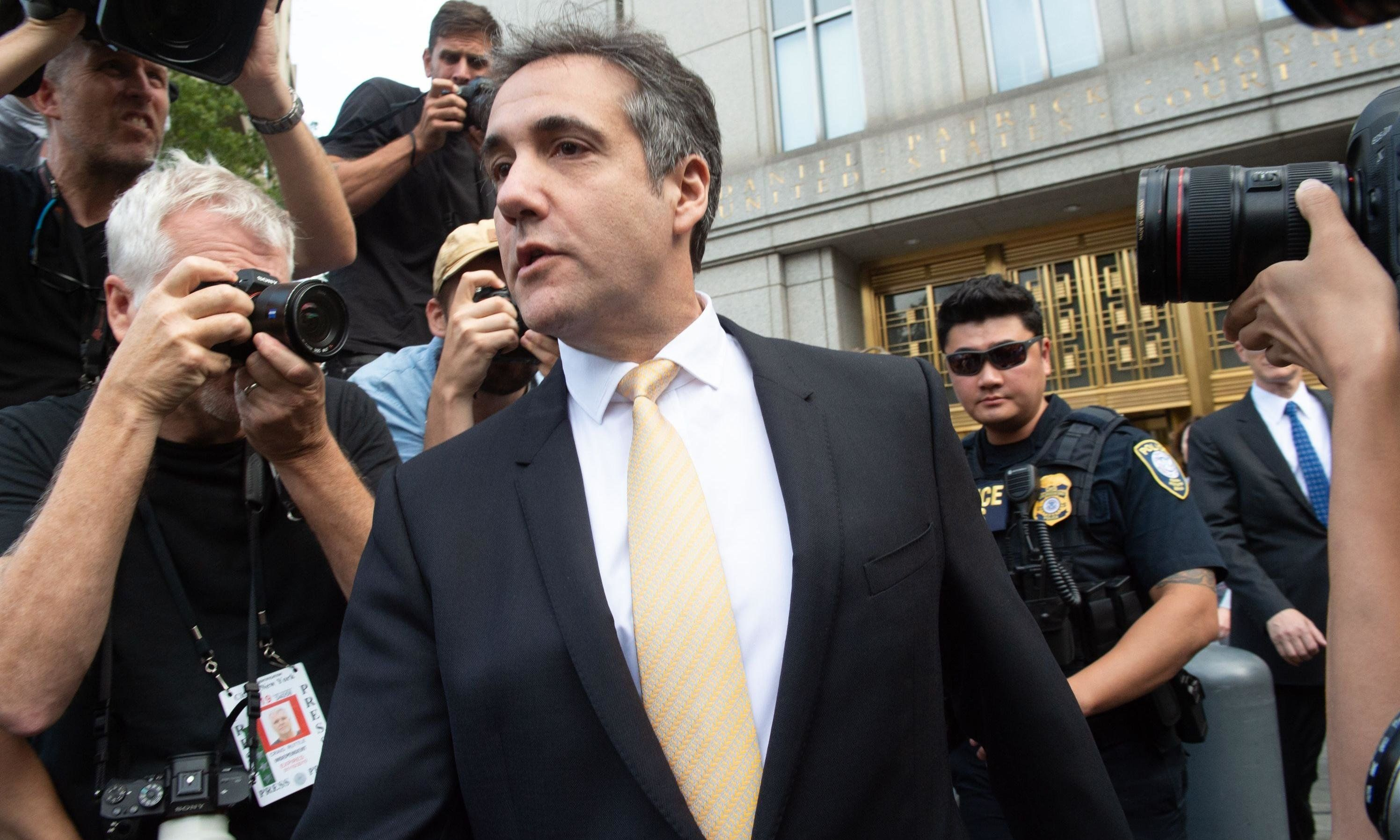 Trumps Ex-Anwalt Michael Cohen.