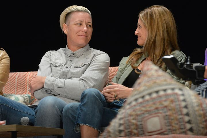 Abby Wambach and Glennon Doyle married in 2017.