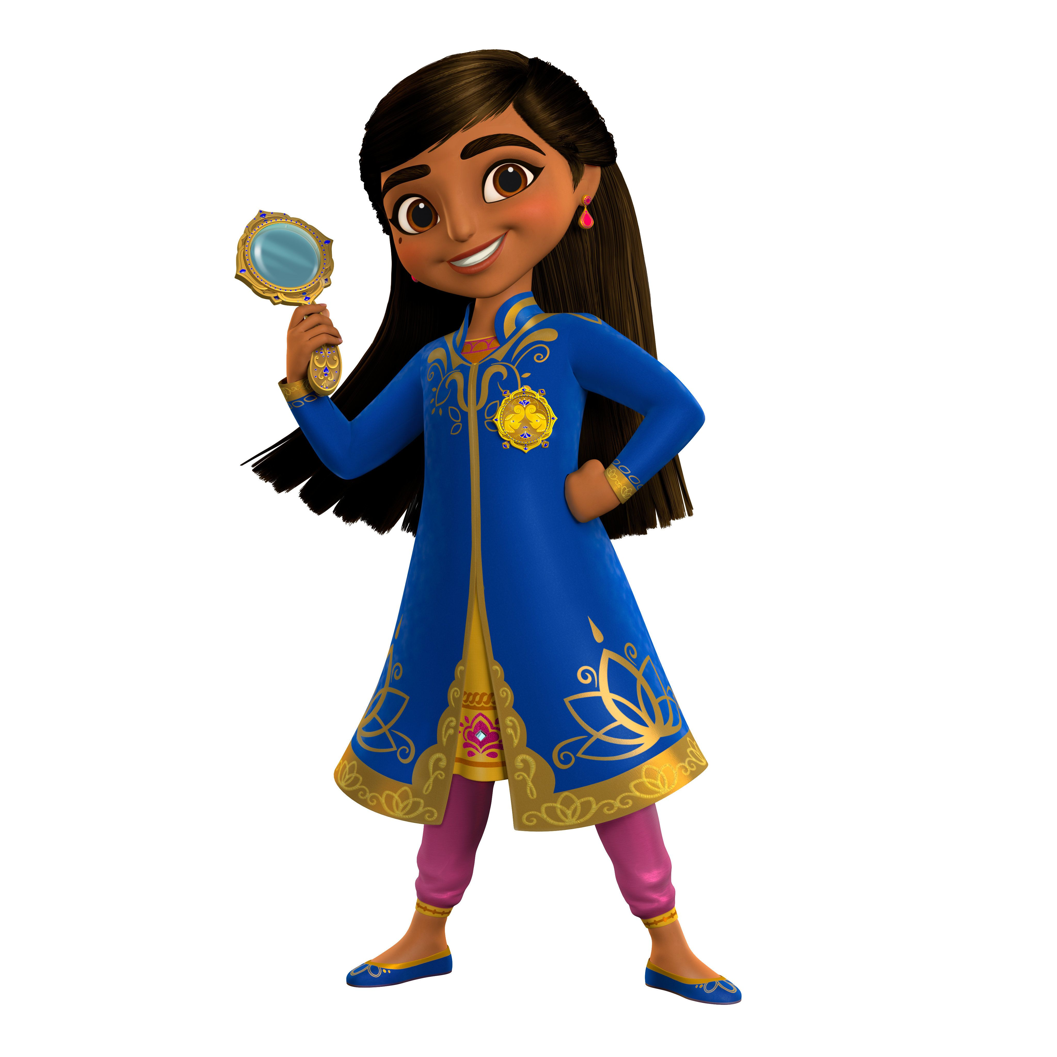 "Disney Junior announced that ""Mira, Royal Detective"" will debut in 2020."