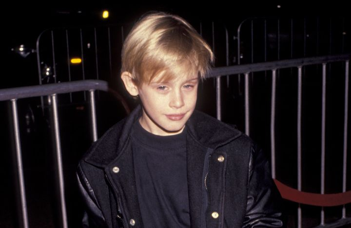"""Macaulay Culkin attends the premiere of """"My Girl"""" on Nov. 3, 1991, in Century City, California."""