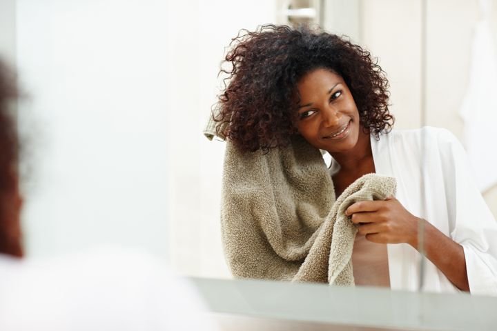 Overwashing can lead to dryness in your hair and scalp. How often you wash your hair depends on your hair type.