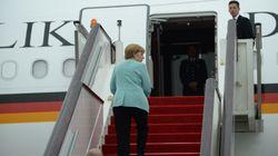 Merkels Flugzeug zum G20-Gipfel muss außerplanmäßig landen: Technische