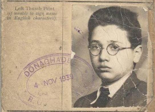Walter Kammerling was sent to England on board the Kindertransport in December