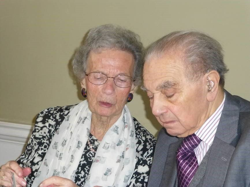 The couple have just celebrated their 74th wedding