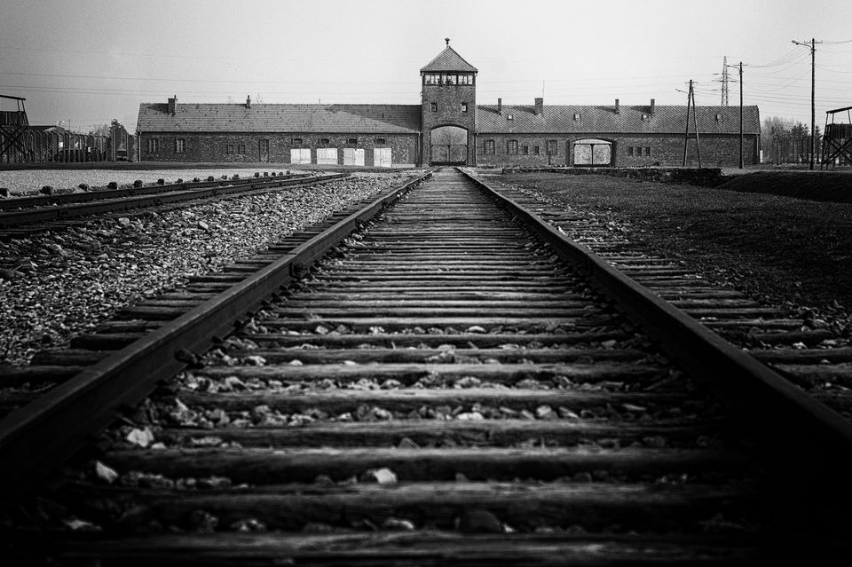The Auschwitz-Birkenau Memorial and Museum, in Poland, where all of Kammerling's family perished in
