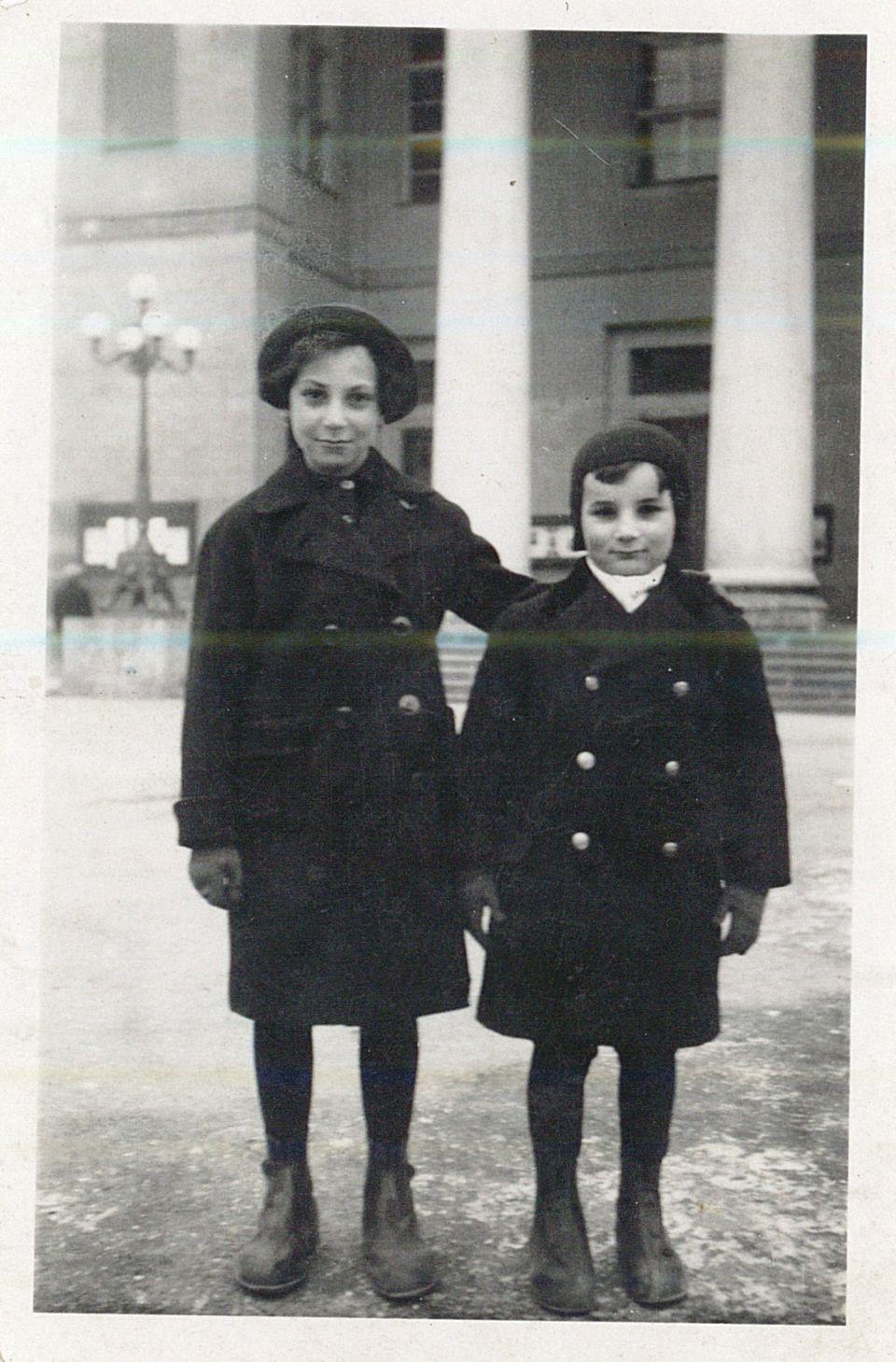 Harry and Ruth Heber left Vienna on theKindertransport on 18 December
