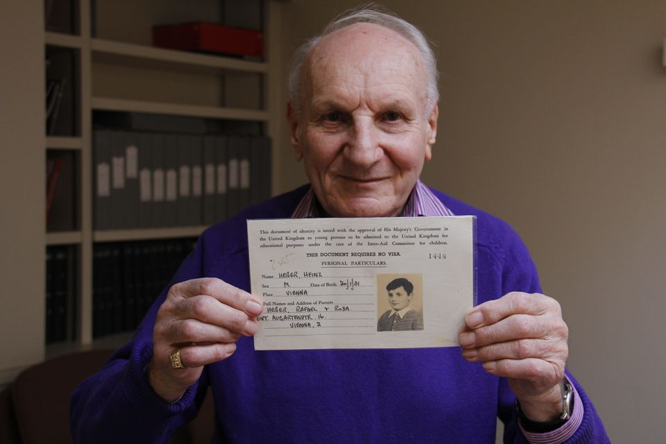 Heber, who now lives in St John's Wood, with his original identification