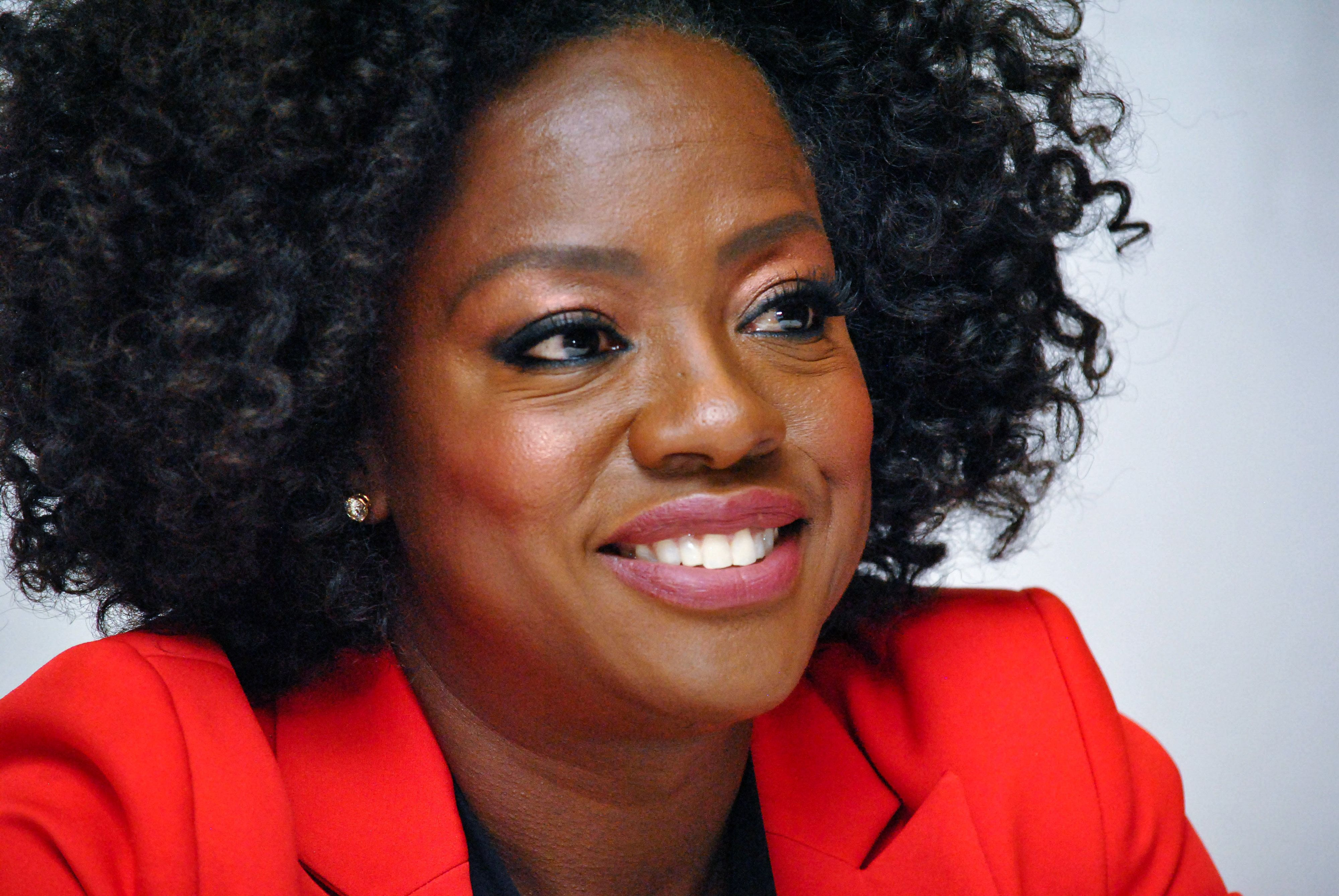"""Viola Davis at the Hollywood Foreign Press Association press conference for """"Widows"""" at the Fairmont Royal York Hotel in Toronto, Canada on September 8, 2018. (Photo by Yoram Kahana/Shooting Star/Sipa USA) *** NO TABLOID PUBLICATIONS IN THE USA ***"""