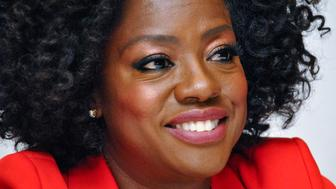 "Viola Davis at the Hollywood Foreign Press Association press conference for ""Widows"" at the Fairmont Royal York Hotel in Toronto, Canada on September 8, 2018. (Photo by Yoram Kahana/Shooting Star/Sipa USA) *** NO TABLOID PUBLICATIONS IN THE USA ***"