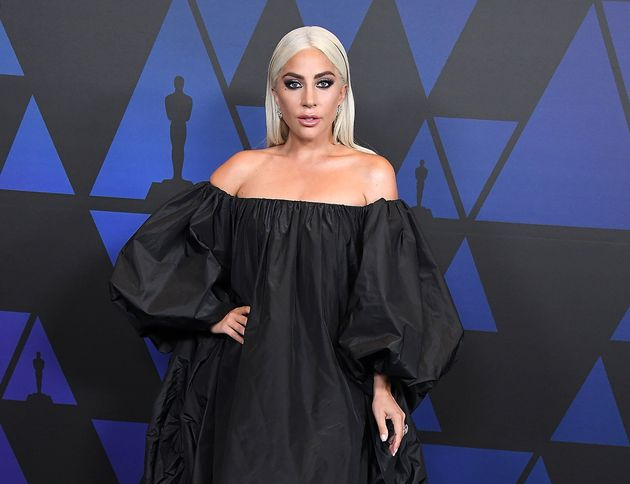 Lady Gaga arrives at the Governors Awards on Nov.18 in
