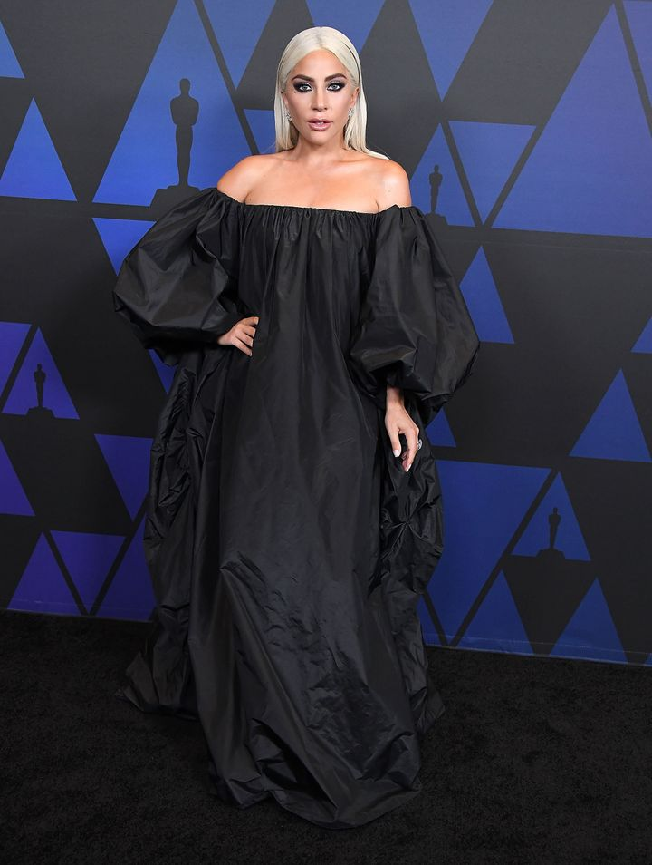 Lady Gaga arrives at the Governors Awards on Nov.18 in Hollywood.