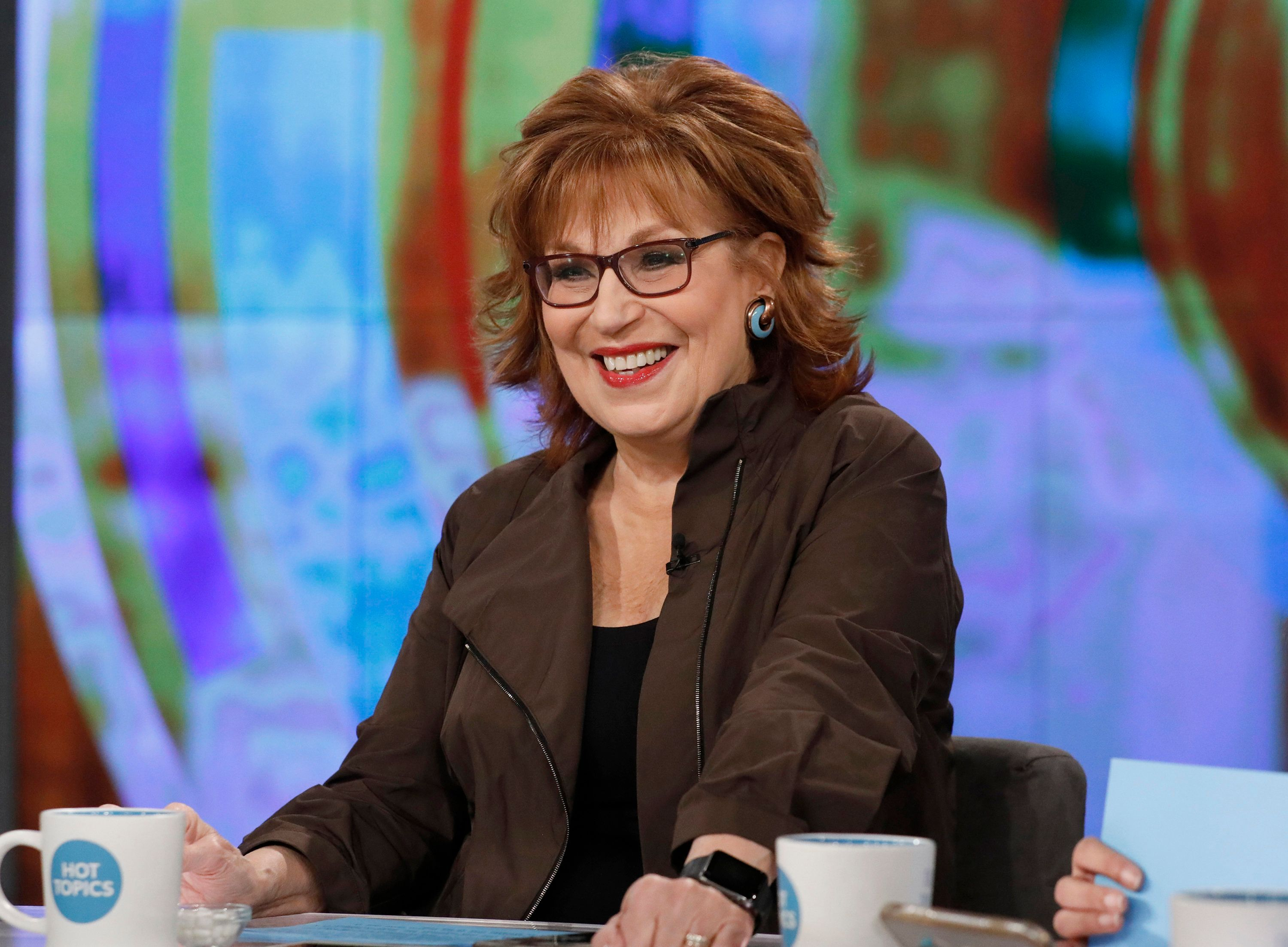 'The View' Co-host Joy Behar Thinks It's 'A Good Day For Donald Trump To