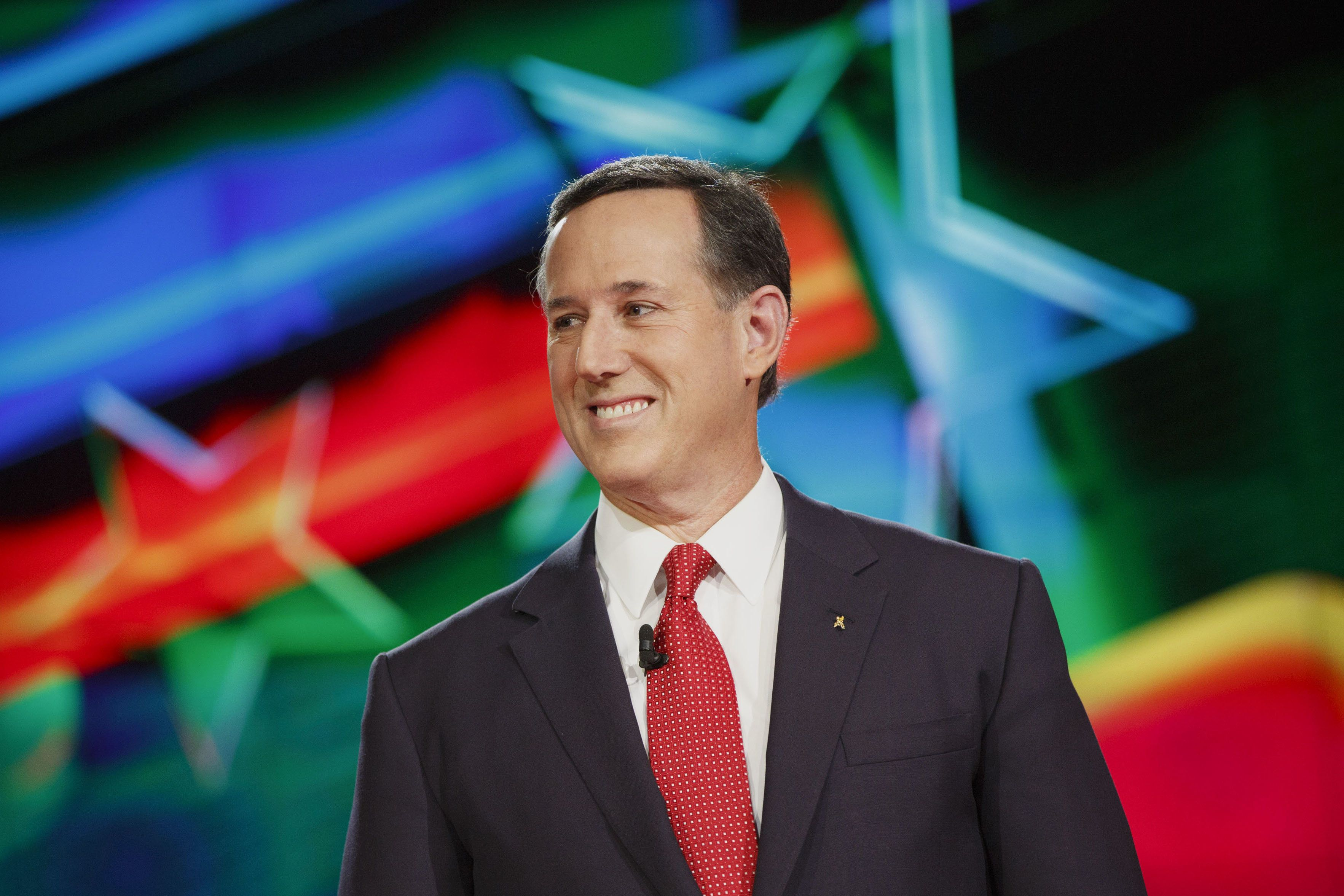 CNN sees no cause to fire Rick Santorum, who in the past has denied that Palestinians even exist and has claimed same-sex marriage is akin to terrorism.