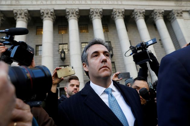 Michael Cohen am Donnerstag in New York.