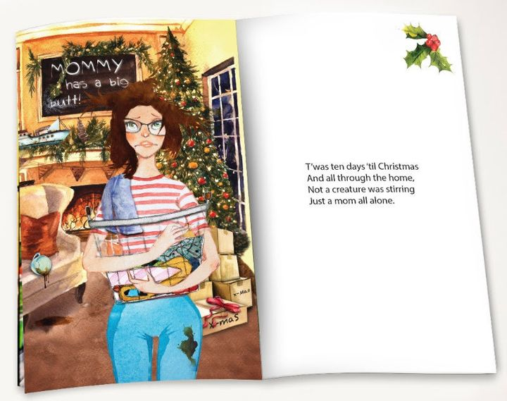 """""""T'was ten days 'til Christmas and all through the home, not a creature was stirring just a mom all alone."""""""