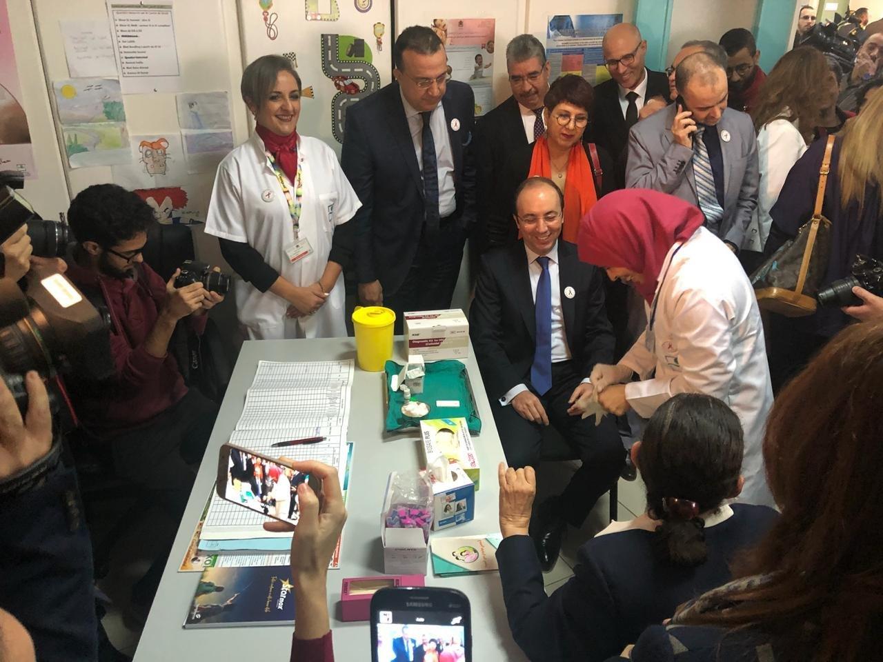 Lancement de la campagne nationale de dépistage du VIH-Sida — Rabat