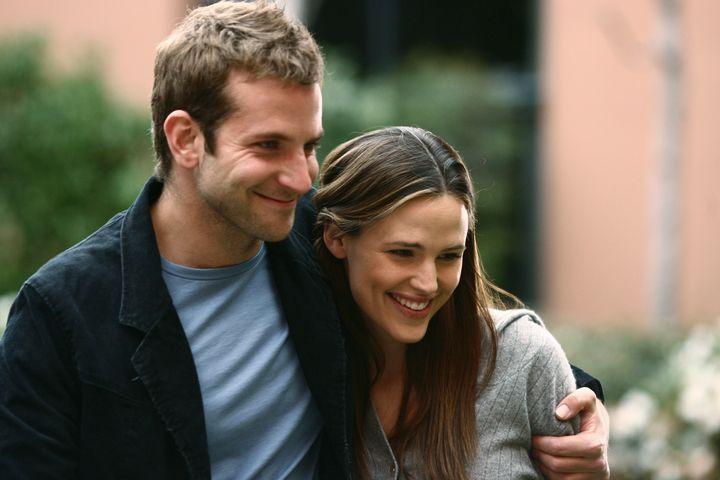 "Bradley Cooper and Jennifer Garner on the fifth season of ABC's ""Alias."""