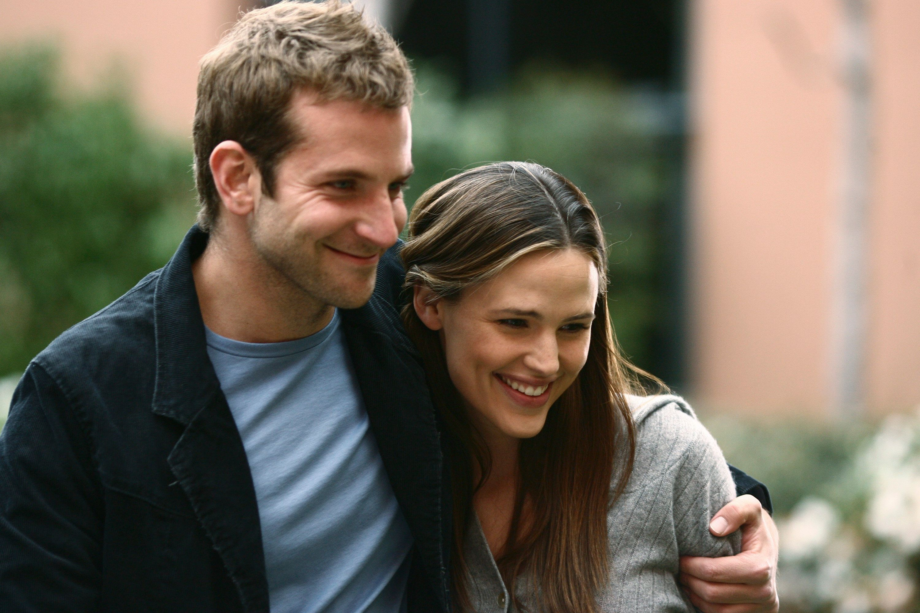 "Bradley Cooper and Jennifer Garner on the fifth season of ABC's ""Alias."""