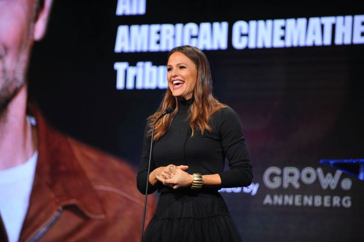 Jennifer Garner pays tribute to Bradley Cooper at the 32nd AnnualAmerican Cinematheque Awards