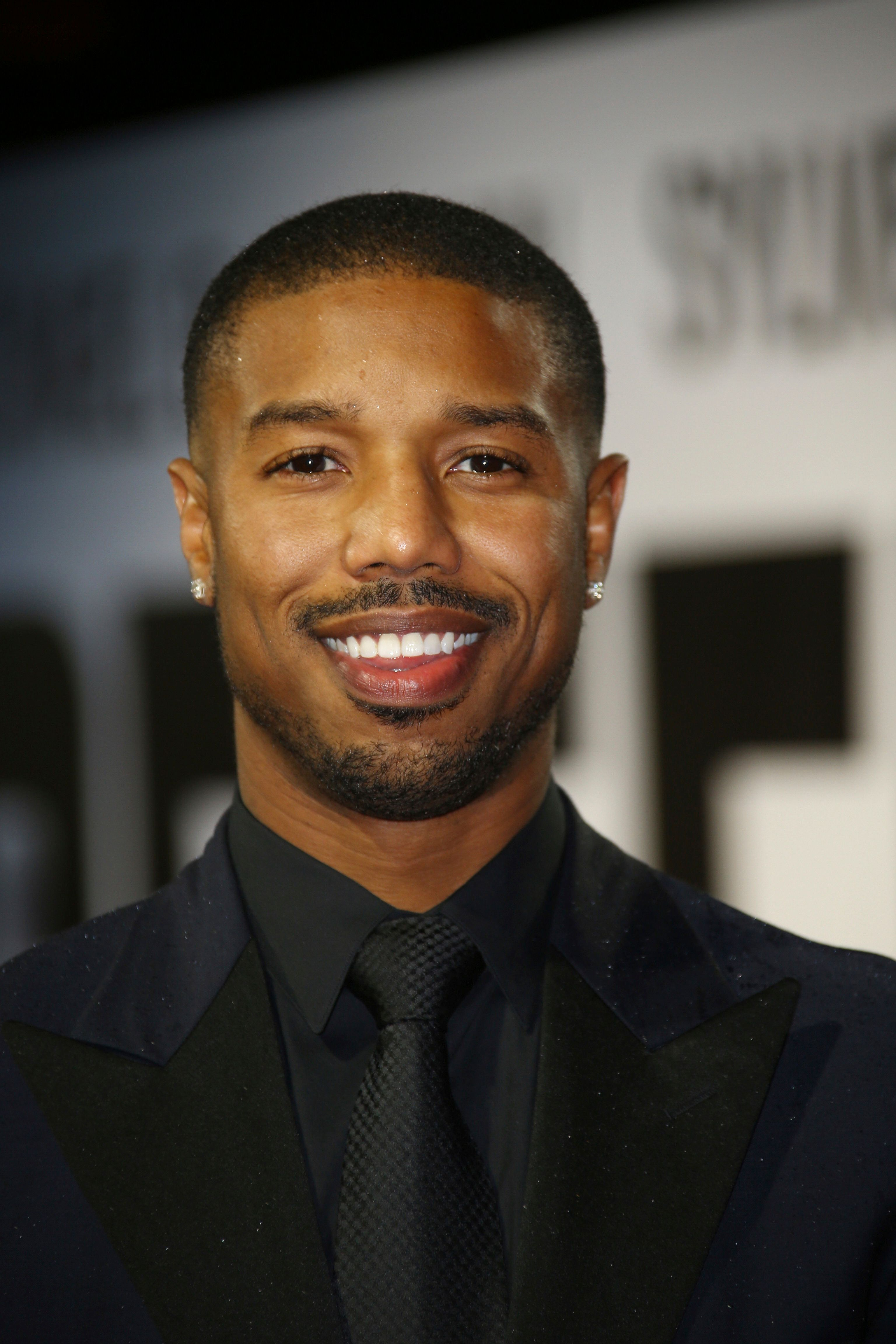 Michael B. Jordan poses for photographers upon arrival at the premiere of the film 'Creed II' in central London, Wednesday, Nov. 28, 2018. (Photo by Joel C Ryan/Invision/AP)