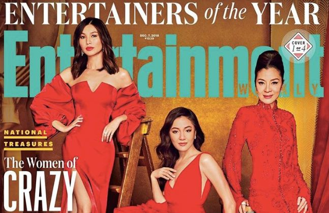 "The casts of ""Black Panther"" and ""Crazy Rich Asians"" served fierce looks on the covers of ""Entertainment Weekly."""