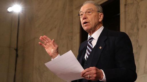 Senator Chuck Grassley Neglects Juveniles For Crime Reform Bill, Advocates Say