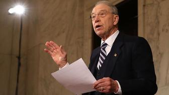 Sen. Chuck Grassley announced Friday that he's trading in the role of Senate Judiciary Committee Chairman for the Senate Finance Committee.
