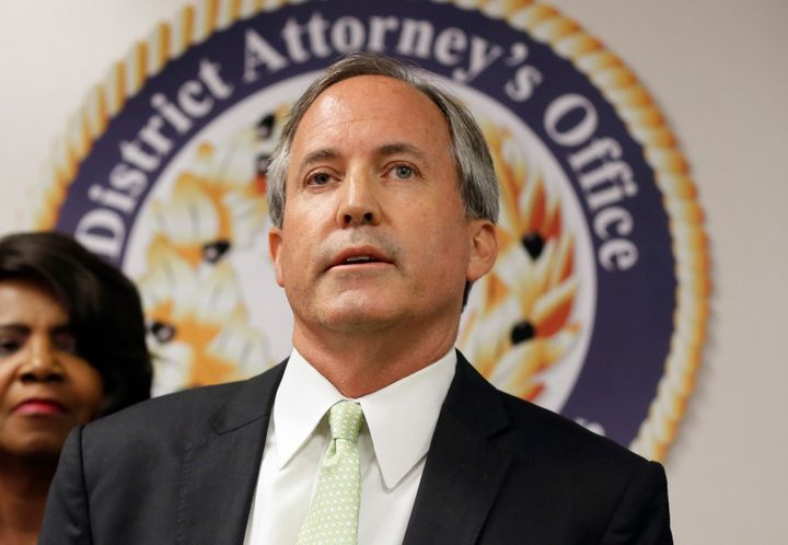 Texas Attorney General Ken Paxton apparently wasted no taxpayer money on the production of a video announcing the first major