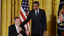 Obama Comments On Death Of 'Patriot And Humble Servant' George H.W. Bush