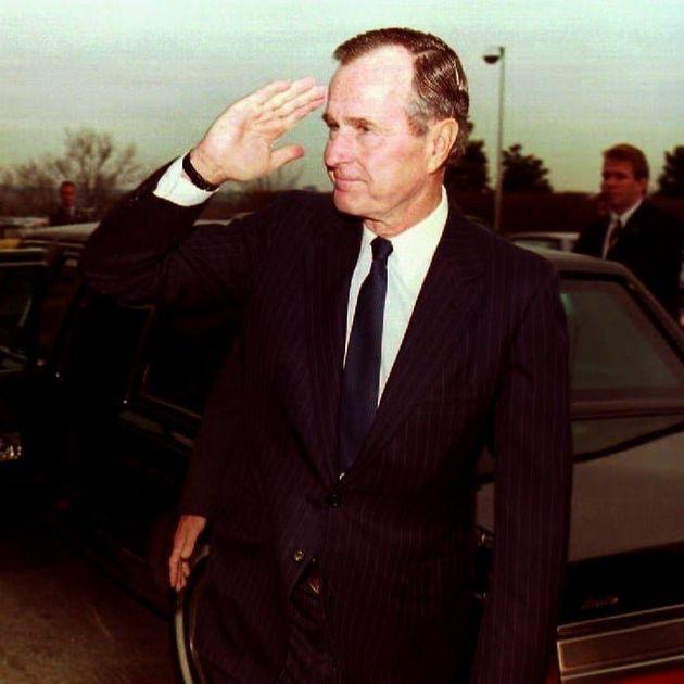 조지 H. W. 부시 미국 전 대통령이