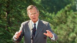 George H.W. Bush ist gestorben: So reagieren Trump und
