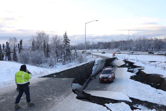 규모 7.0 강진 일어난 미국 알래스카의 현재