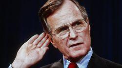 George H. W. Bush: US-Amerikaner teilen alten Brief des verstorbenen