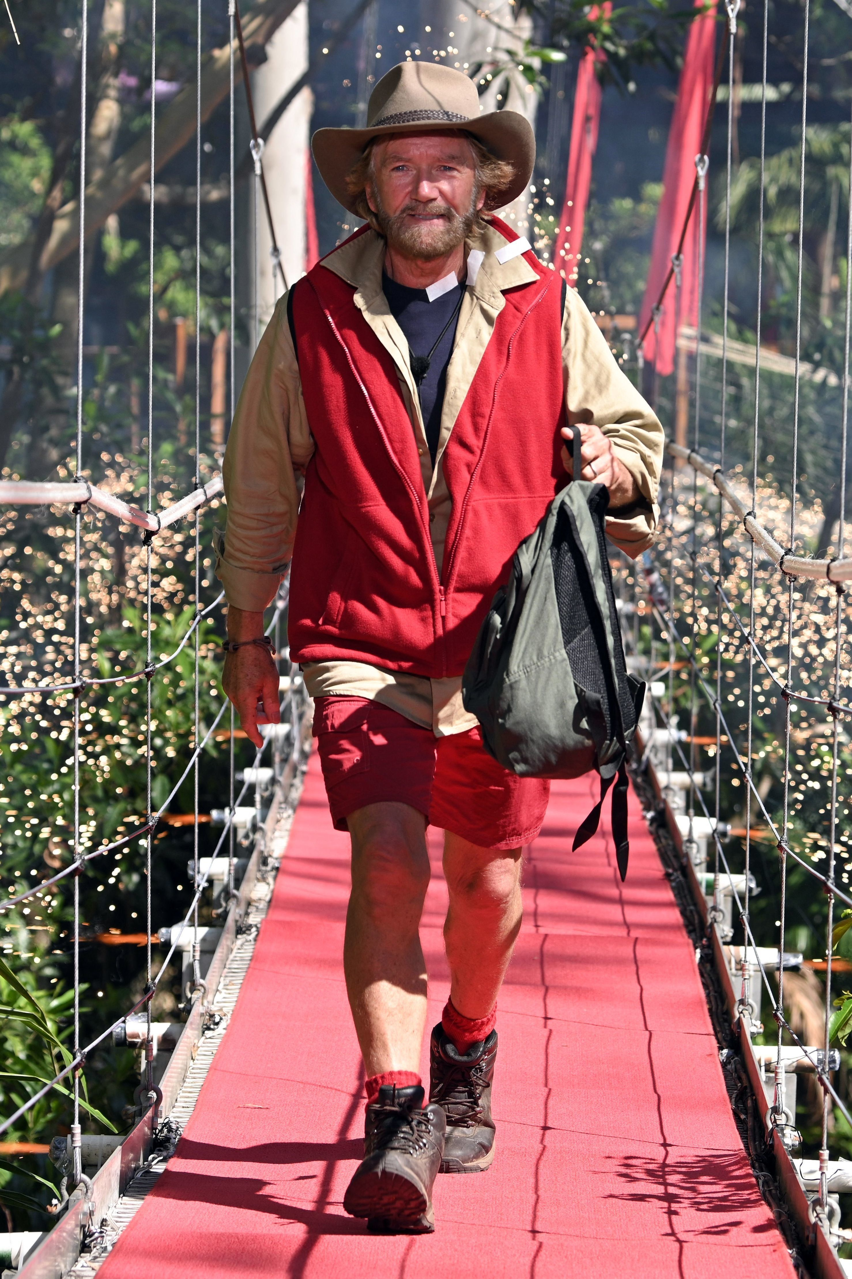Noel Edmonds Is The First Voted Off 'I'm A Celebrity' And Everyone Is Making The Same
