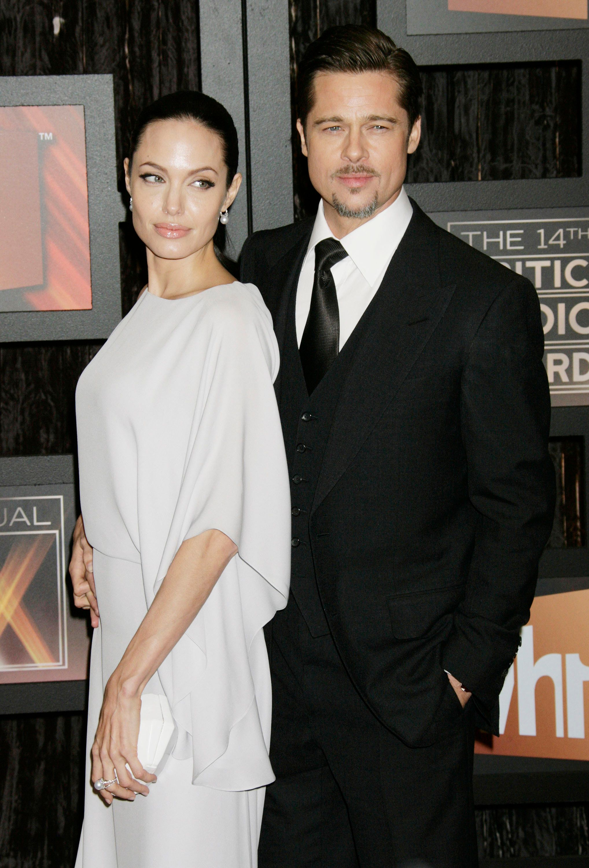 Brad Pitt And Angelina Jolie Reach Custody Agreement, Avoiding