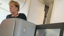 Merkel reiste im Linienflugzeug zum G20-Gipfel: Sitznachbar berichtet, wie sie sich