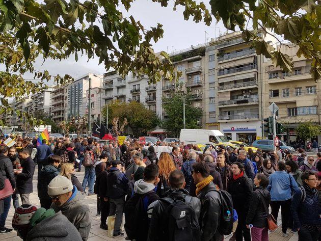 Συγκέντρωση διαμαρτυρίας για τον Ζακ Κωστόπουλο έξω από τη