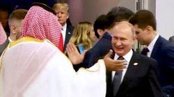 L'extase de Poutine et MBS au G20 pour leurs retrouvailles passe