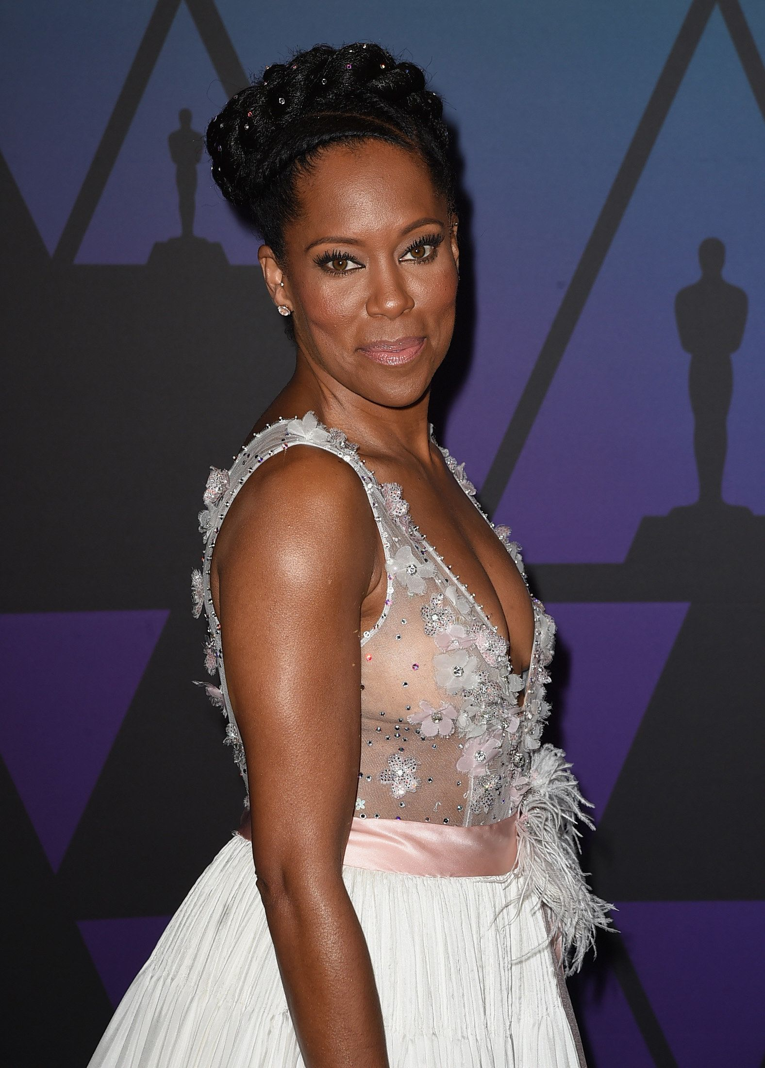 HOLLYWOOD, CA - NOVEMBER 18:  Regina King attends the Academy of Motion Picture Arts and Sciences' 10th annual Governors Awards at The Ray Dolby Ballroom at Hollywood & Highland Center on November 18, 2018 in Hollywood, California.  (Photo by Kevin Winter/Getty Images)