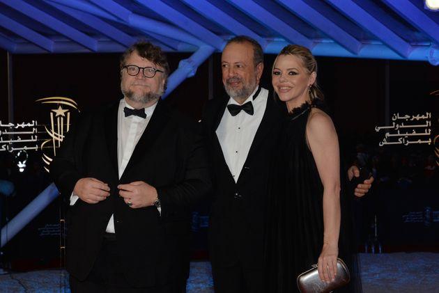 Guillermo Del Toro et Sarim Fassi