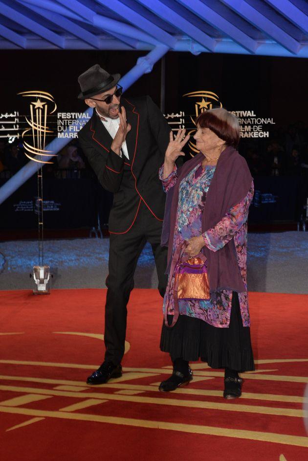JR et Agnès
