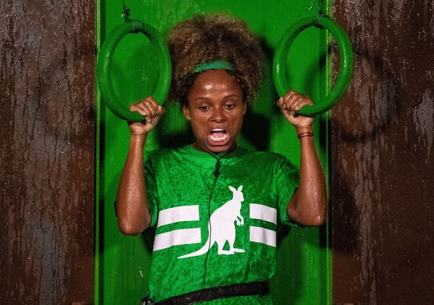 Fleur East is currently in the 'I'm A Celebrity'
