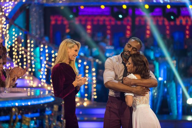 Charles Venn and Karen Clifton were the latest couple to leave the