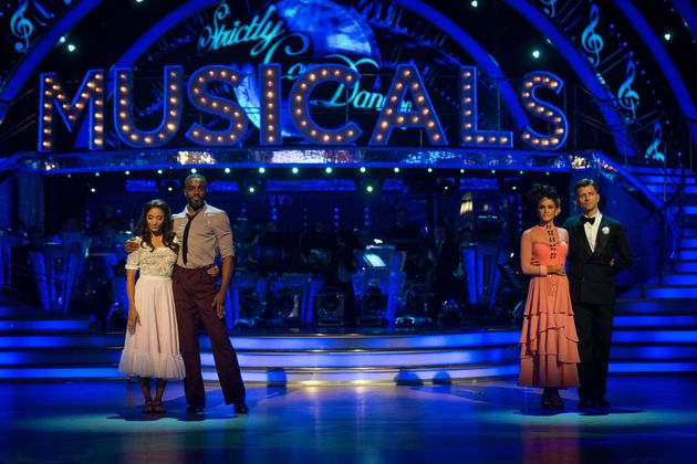 Charles faced Ashley Roberts in the dance-off