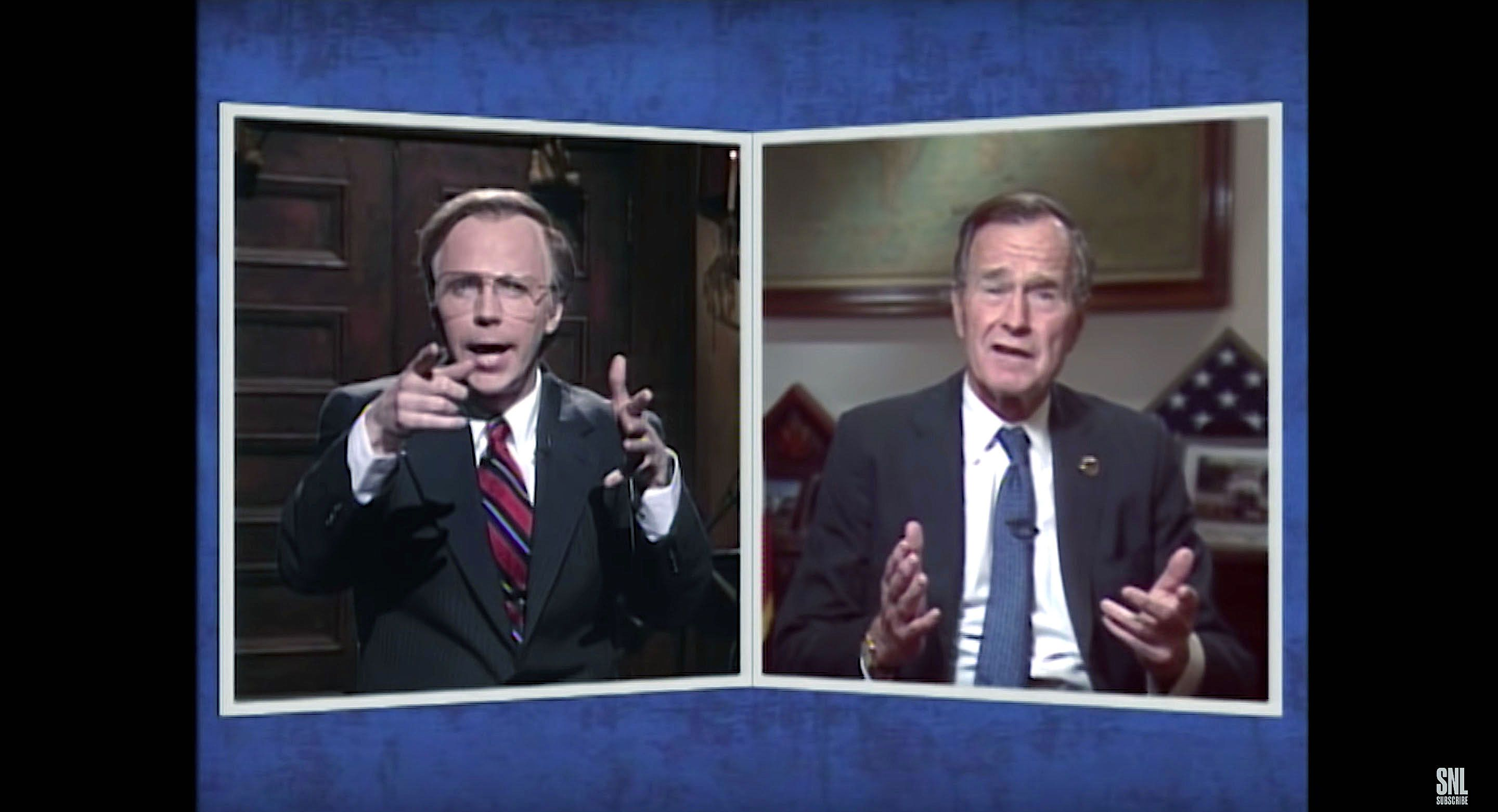 'SNL' Pays Tribute To George H.W. Bush's Sense Of