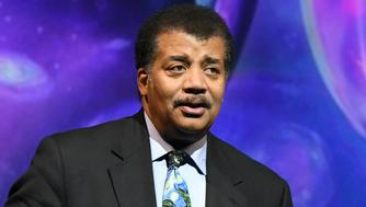 NEW YORK, NY - OCTOBER 23:  American Astrophysicist Neil deGrasse Tyson speaks onstage during the Onward18 Conference - Day 1 on October 23, 2018 in New York City.  (Photo by Craig Barritt/Getty Images for Onward18)