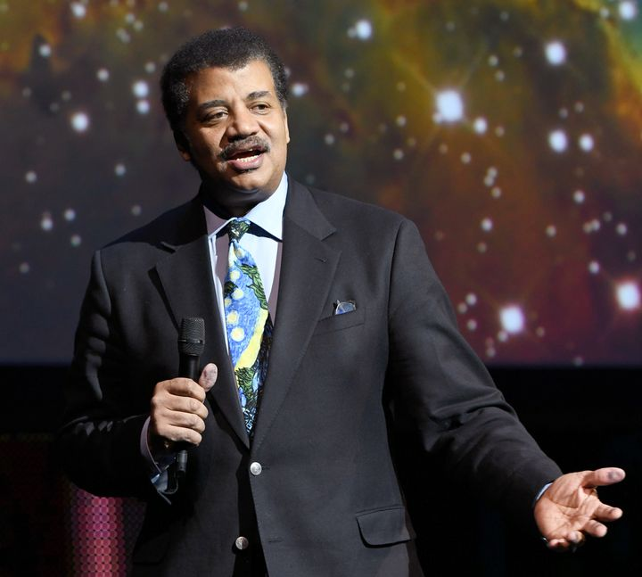 Astrophysicist Neil deGrasse Tyson speaks onstage during the Onward18 Conference on Oct. 23, 2018, in New York.