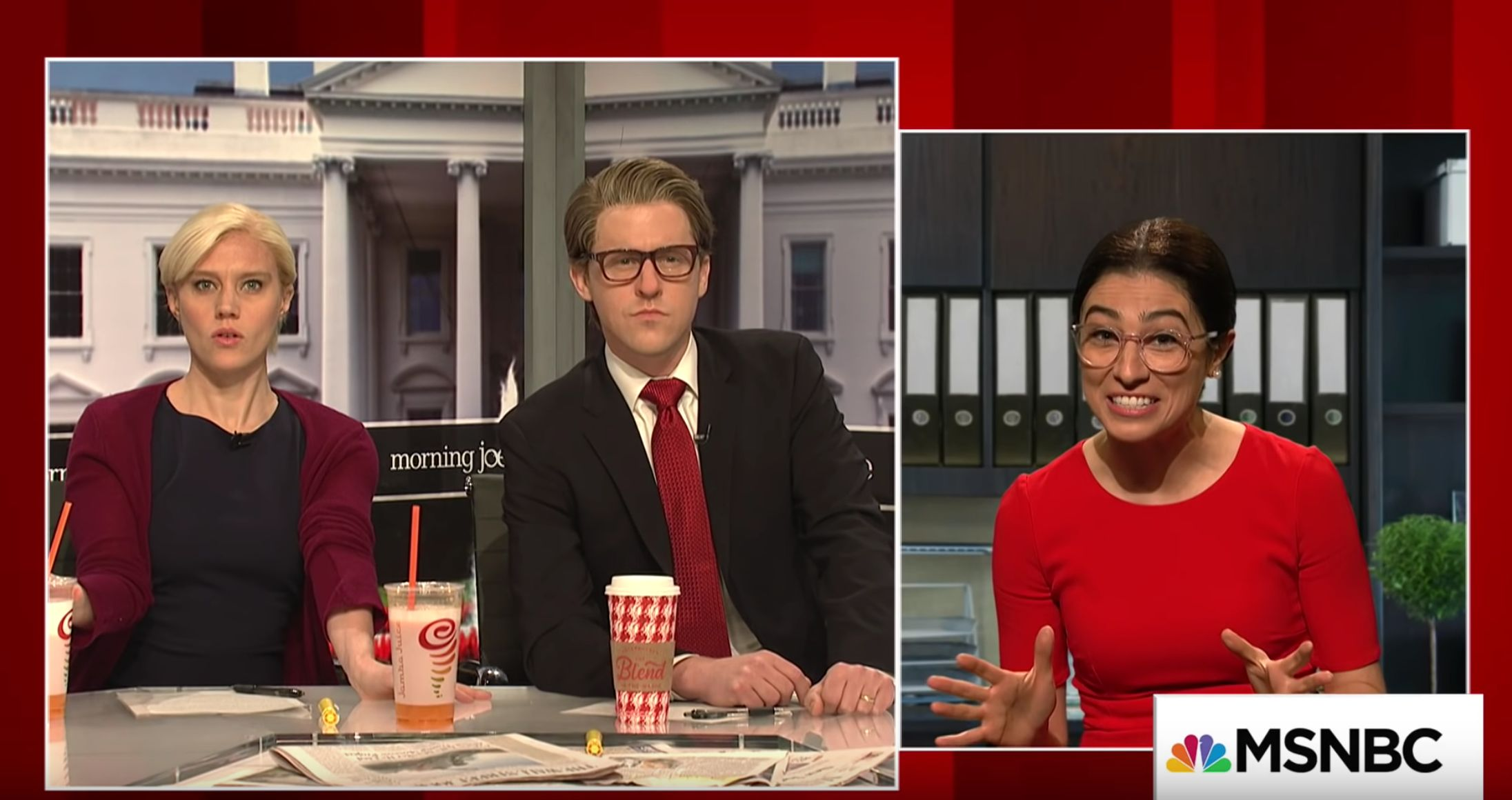 'SNL' Offers Its Take On Alexandria Ocasio-Cortez In 'Morning Joe'