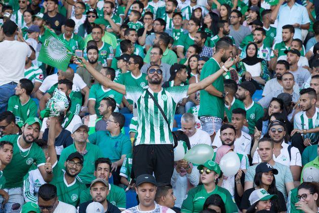 Raja-AS Vita : Les supporters marocains mettent le feu à